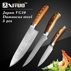 Reviews XITUO 3.55.58 inch paring utility cleaver Chef bread knife Japanese Damascus steel Kitchen Knife sets 3 pcs Santoku utility ⛺ Features XITUO 3.55.58 inch paring utility cleaver Chef bre Price  XITUO 3.55.58 inch paring utility cleaver Chef bread knife Japanese Da  More : http://shop.flowmaker.info/u92SR    XITUO 3.55.58 inch paring utility cleaver Chef bread knife Japanese Damascus steel Kitchen Knife sets 3 pcs Santoku utilityYour like XITUO 3.55.58 inch paring utility cleaver Chef…