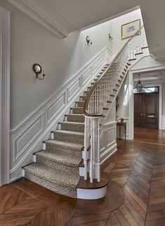 Foyer and Stair Detail