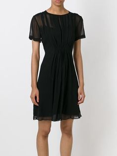 Marc By Marc Jacobs 'Marquee' Georgette Pintuck LBD.
