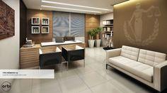 Luxury Office Design Ideas For a Remarkable Interior Office Cabin Design, Law Office Design, Office Furniture Design, Office Interior Design, Luxury Interior Design, Office Interiors, Home Interior, Bureau Design, Office Table