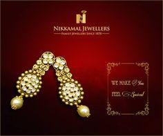 We make you feel Special! Visit Nikkamal Jewellers for an exclusive range of #Gold, #Diamond, #Polki, #Kundan & #Platinum #Jewellery #NikkamalJewellers #Ludhiana #Jalandhar