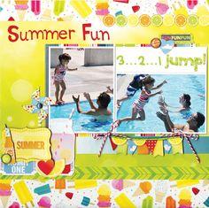 Summer Fun featuring Lemonade Stand from Bo Bunny - Scrapbook.com