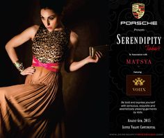 Serendipity brings you Voiix's exotic collection of a perfect fusion of EAST MEETS WEST to infuse the magic of western fashion with a gloriously rich Indian aesthetic at Vasant continental on 6th August 2015.