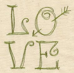 Love is in the Square | Urban Threads: Unique and Awesome Embroidery Designs