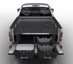 Decked Adds Drawers To Your Pickup Truck Bed For Maximizing Storage Space - for our work vehicles!