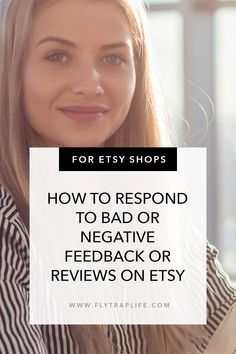 Bad reviews are no fun for Etsy sellers & shops. Click the link to learn how to handle them with grace and turn them around. www.flytraplife.com #etsyshop #etsy Bad Reviews, Say Please, Negative Feedback, You Promised, Pissed Off, Do You Like It, Liking Someone, Customer Experience, Shut Up