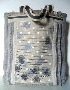 SU ORDINAZIONE  Shopping bag in cotone pesante col . di BAGSaraGui, €100.00