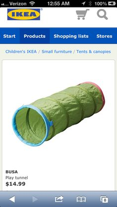Ikea Busa Tent and Tunnel ($25) with Play Zone Balls ($25). Play Tunnel, Ikea Nursery, Baby Shower Items, Busa, Canopy Tent, Small Furniture, Future Baby, Fabric, Balls