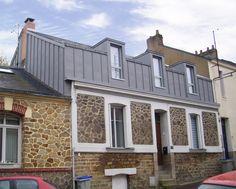 Charles Geffroy - Architecte DESA - Extension et surélévation d'une maison à Nantes (44)