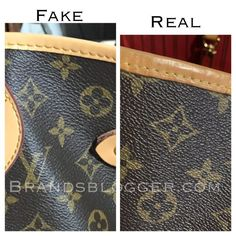 How To Spot A Fake Louis Vuitton Neverfull Bag for all sizes. In this article we have explained in a few simple how not to be frauded by fake products. Louis Vuitton Nails, Real Louis Vuitton, Vintage Louis Vuitton, Louis Vuitton Monogram, Toms Shoes Outlet, Lv Handbags, Burberry Handbags, Luxury Handbags, New Louis Vuitton Handbags