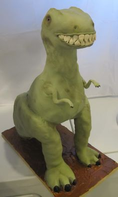 Cakes and Cookies by Andrea: T-Rex Cake 3D Tutorial