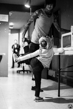 RIP Mitch Lucker of Suicide Silence, Kenadee Lucker benefit   Adam Elmakias   Music Photographer