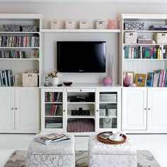 A Media Set-Up With a Softer Side | Apartment Therapy
