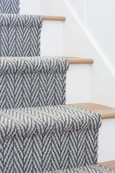 Oar Rack Wall Decor is part of Cottage Living Room Carpet - Oar rack wall decor Cottage entry wall decor Board and batten walls, white oak flooring and chippy vintage oars on oar racks Staircase Runner, Carpet Runner On Stairs, Carpet Stair Treads, Pattern Carpet On Stairs, Runners For Stairs, Navy Stair Runner, Carpet For Stairs, Tartan Stair Carpet, Striped Carpet Stairs
