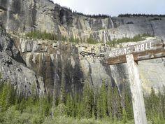 Weeping Wall - Banff National Park #Canadian