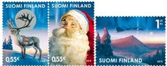 santa postage stamps - Google Search