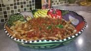 Ingredients: Sauce for 1 lb pasta 2 tbs olive oil 1 Medium onion diced 3 Cloves garlic minced 8 oz....