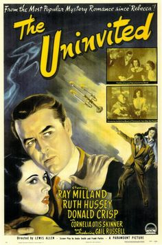 The Uninvited 11x17 Movie Poster (1944)