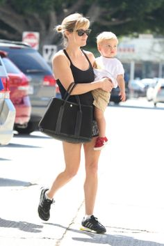 Reese Witherspoon steps out with her boys Deacon and Tennessee on March 16, 2014