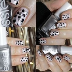 Nail Art - dots with essie ♥ In Love With Life ♥