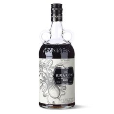 The Kraken Get your tentacles around this spirit, which is named after a - The Independent Bottle Packaging, Brand Packaging, Kraken Rum, Good Rum, Spiced Rum, Glass Bottles, Wine Recipes, Wines, Vodka Bottle