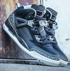 new concept 9d00c 529ee Jordan Spizike, Adidas Shoes Outlet, Grey Sneakers, Sneaker Magazine, Fly  Shoes