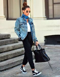 Unboring Outfits To Wear With Sneakers: You have to admit that when it comes to comfort, the sneakers have other footwear beat flat out but it is just that