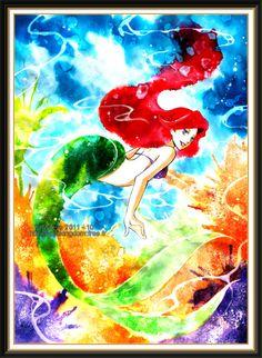 Disney Art- I love the colors