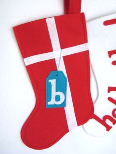 Gift Felt Christmas Stocking  Choose your by stitcholicious, $18.00
