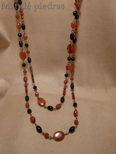 Sorteo en facebook de Amigas y Negocios. Entre más de 30 regalos, está este collar mío de agata cornalina, ágata negra y onix..valorado en 40€... y muchos más en este enlace  https://www.facebook.com/media/set/?set=a.591719617576116.1073741838.519842968097115&type=1