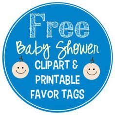 This one is for Marcia and girls on behalf of Natali !!! c Free baby shower clipart and favor tags!