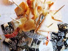 Chiffonnettes croustillantes aux Crevettes & Chutney de mangue • Hellocoton.fr