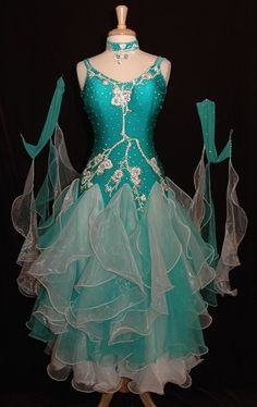 Chiffon Ballroom Dress  One day I'd like to be in ballroom competitions with my husband!
