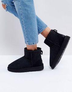 Черные ботинки UGG Classic Mini II