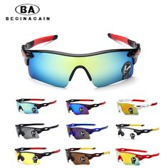 375bcef6a0e6 BEGINAGAIN Men Women Cycling Glasses UV400 Outdoor Sports Windproof Eyewear  Mountain Bike Bicycle Motorcycle Glasses Multi Color-in Cycling Eyewear  from ...