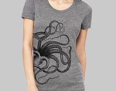 06dfd21be Graphic tee. Octopus OctopusOctopus DesignCasual T ShirtsCool T  ShirtsScreen Printing ...