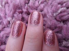Maybelline Color Show glitter nail varnish in Pink Party Dress