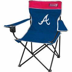 Coleman MLB Atlanta Braves Quad Chair, Multicolor