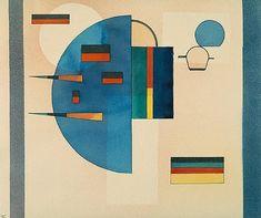 "Wassily Kandinsky - ""Calmed"", 1931"