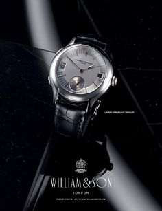 William & Son is one of the most distinctive, & definitively British, of luxury goods companies; Watches Photography, Jewelry Photography, Still Life Photography, Watch Image, Watch Photo, Advertising Photography, Commercial Photography, William And Son, Watch Diy