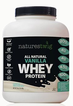 NaturesTwig, Vanilla whey protein for men