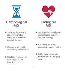 Chronological Age Vs Biological