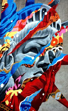 tristan eaton statue of liberty - Google Search