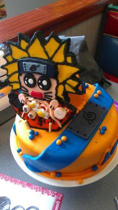 Naruto's Birthday Cake!