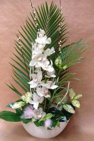 1000 images about bouquets fleurs artificielles on pinterest composition - Composition fleur artificielle ...