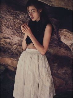 """""""LOST IN TIME"""" FOR VOGUE AUSTRALIA MARCH 2015"""