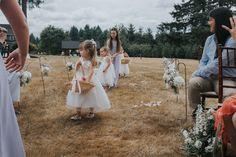 Backyard Wedding in Camas