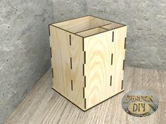 "Workpiece of wood for decoupage ""Pencil-box"" by SiberianDIYcraftsArt on Etsy"