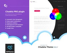 Citadela PRO plugin with WordPress Customizer compatibility Wordpress Plugins, Wordpress Theme, Web Creation, List Website, Building A Website, New Theme, Best Web, How To Introduce Yourself, Layouts