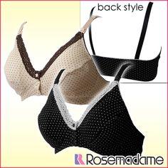 rosemadame   Rakuten Global Market: Maternity half top feeding cum for bra nursing bra ストラップオープン dot & lace Maternity Brassiere OPEN fs3gm